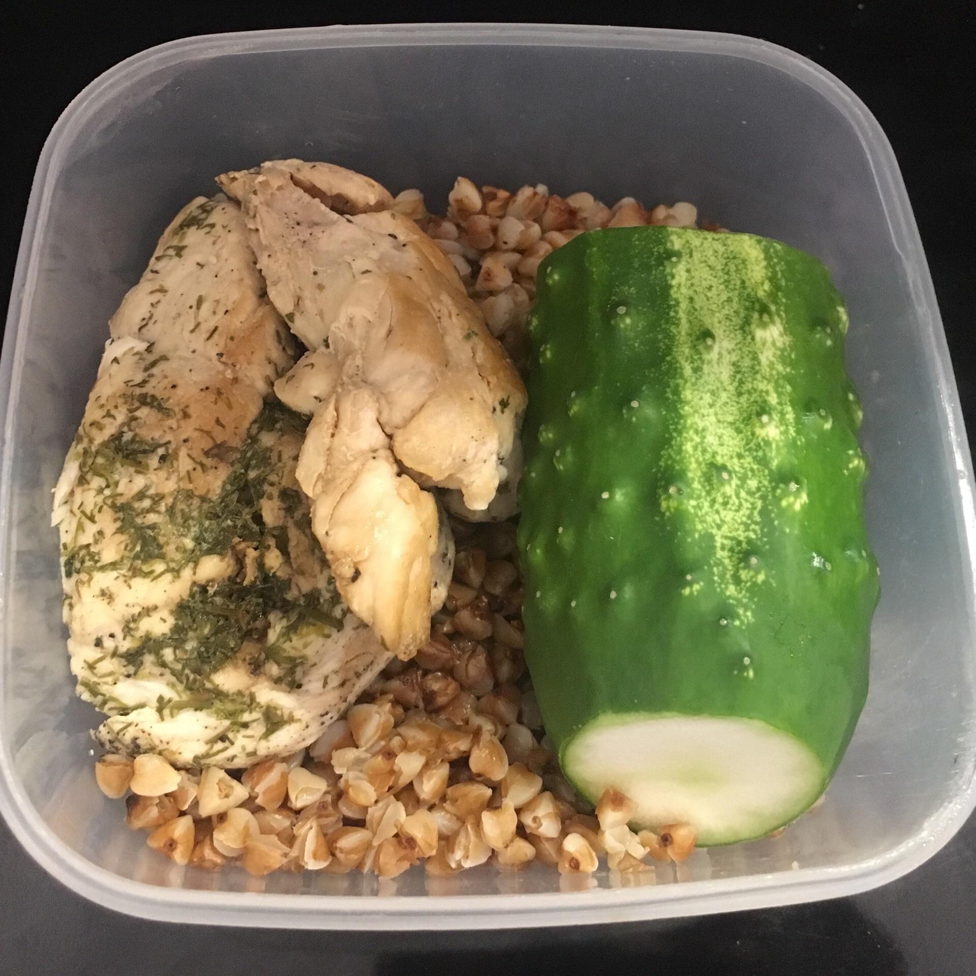 Гречневая диета или огуречная диета