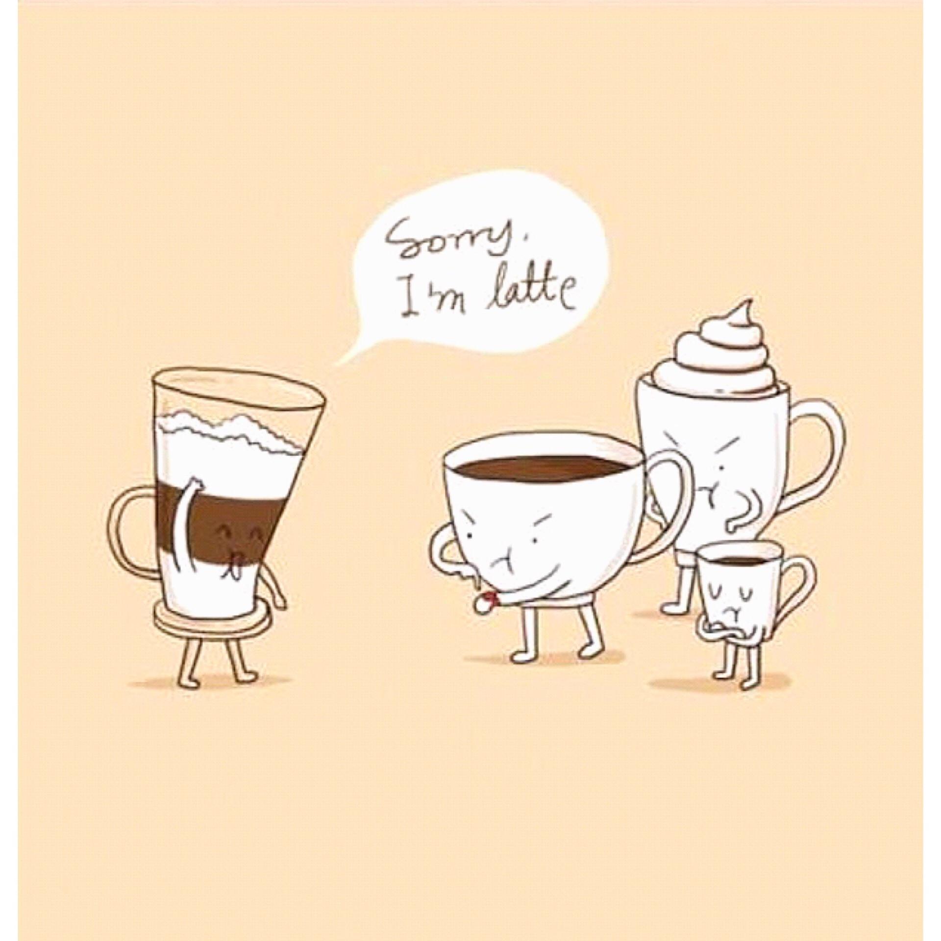 Прикольные картинки кофе чай