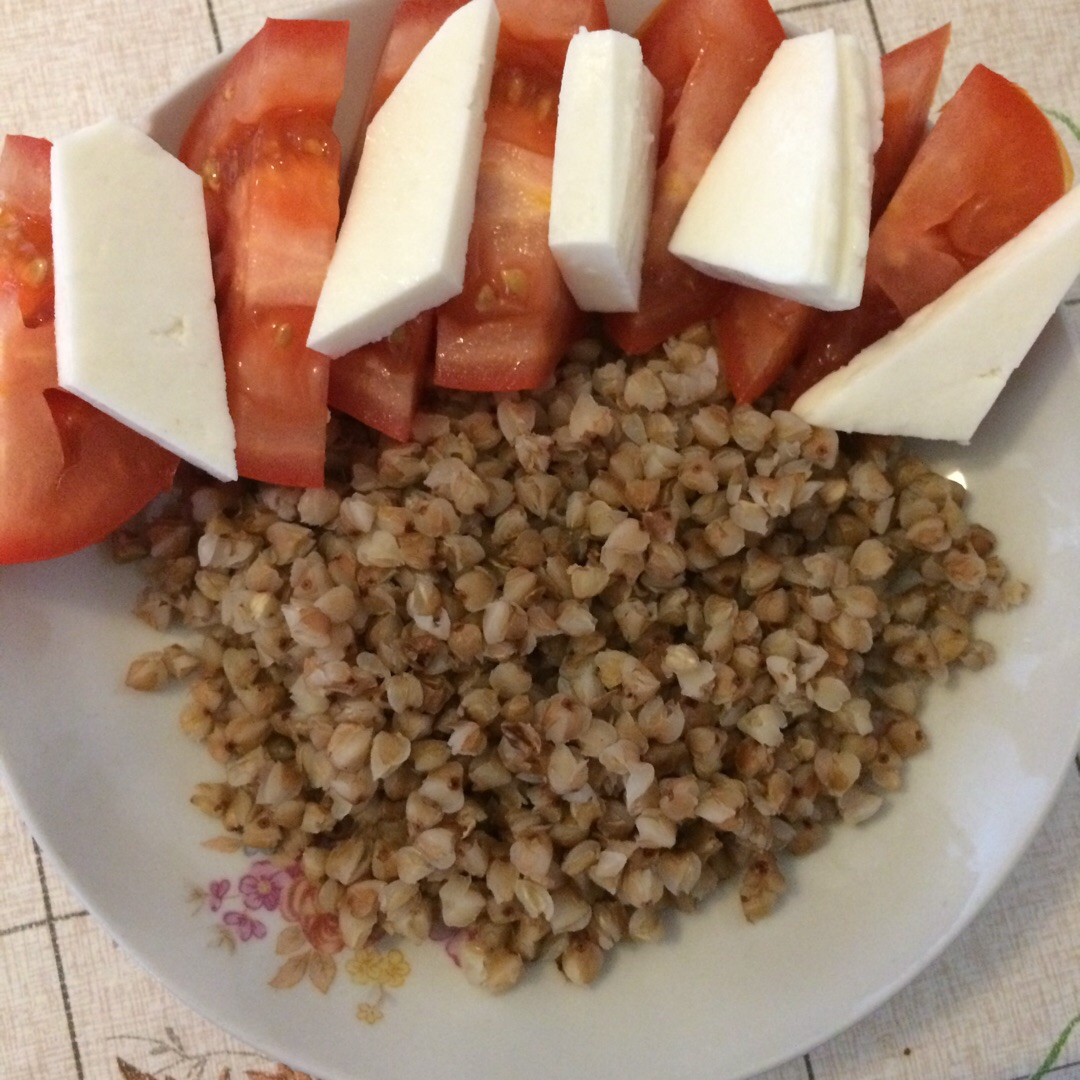 Диета гречка и помидор
