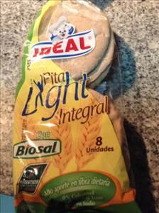 Pan pita integral light ideal