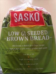 Sasko Low GI Seeded Brown Bread - Photo