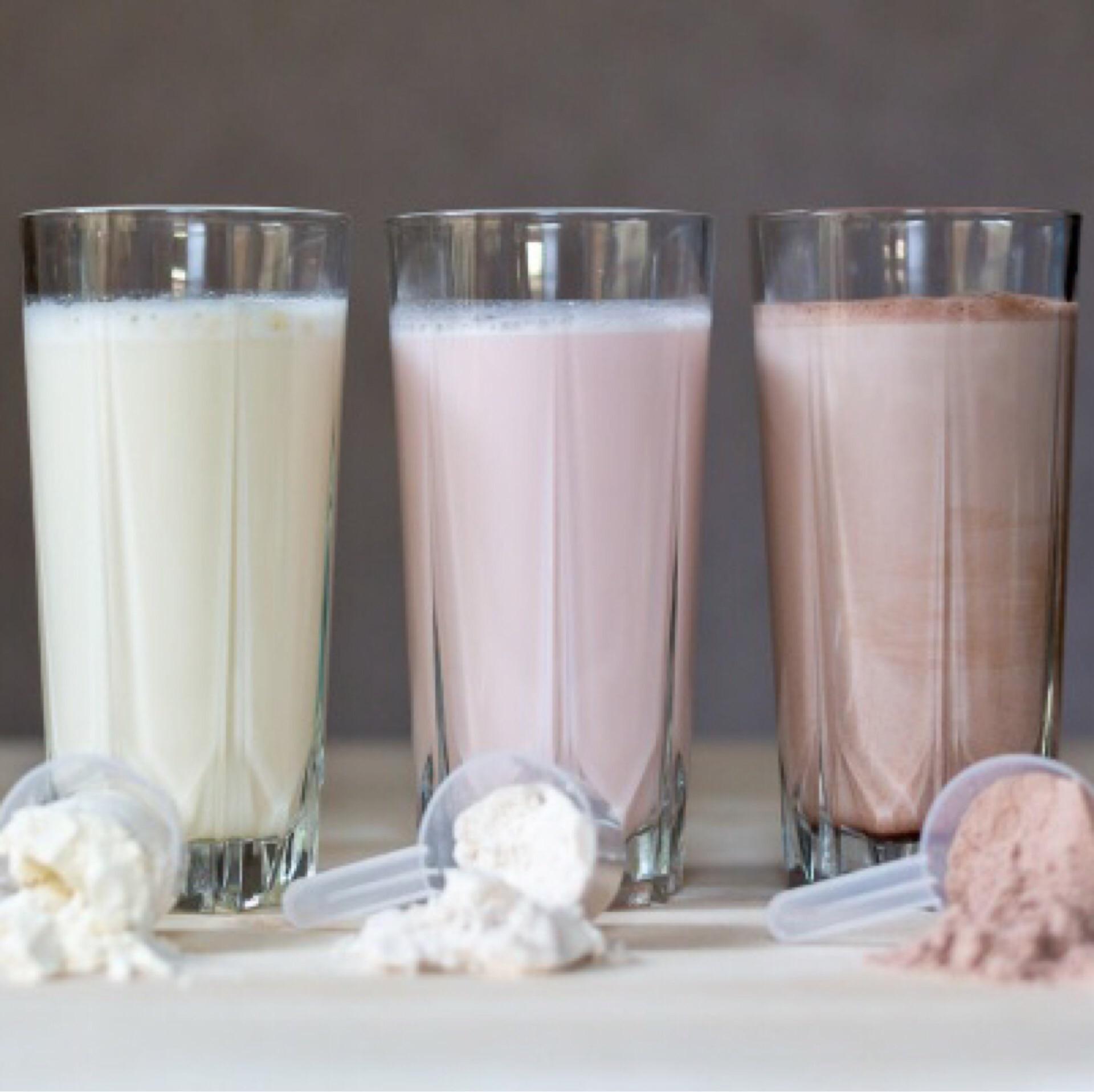 Коктейли для похудения на основе молока