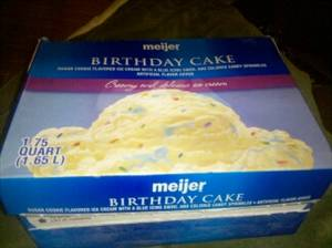 Tremendous Meijer Birthday Cake Ice Cream Photo Funny Birthday Cards Online Inifodamsfinfo