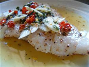 Grilled white fish with salsa di giovanna recipe details for Grilled white fish recipes